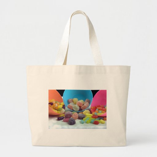 Sweets and candy tote bag