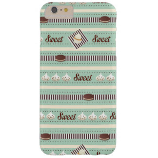 Sweets and Treats - Dark Mint and Chocolate Barely There iPhone 6 Plus Case