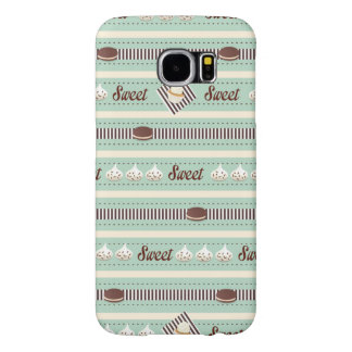 Sweets and Treats - Dark Mint and Chocolate Samsung Galaxy S6 Case