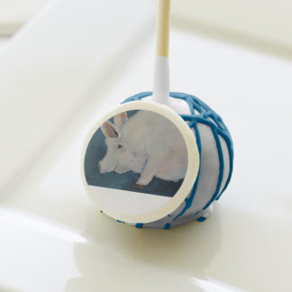 Sweets and Treats - Pink Pig Cake Pop No. 3