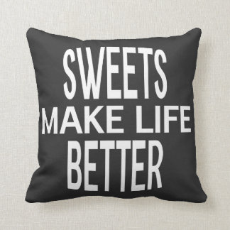 Sweets Better Pillow - Assorted Styles & Colors