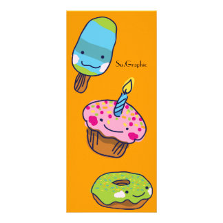Sweets Book Mark Full Color Rack Card