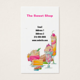 Sweets! Business Card