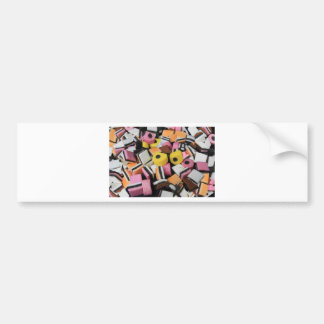 Sweets Candy Bumper Sticker