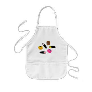 sweets candy kids' apron