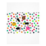 sweets candy letterhead template