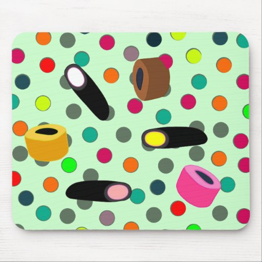 sweets candy mouse pads
