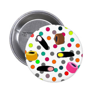 sweets candy pinback button