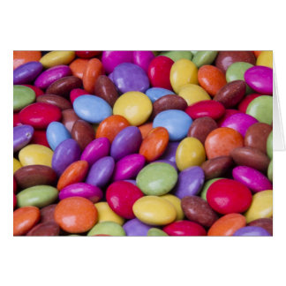 Sweets Candy smarties Card
