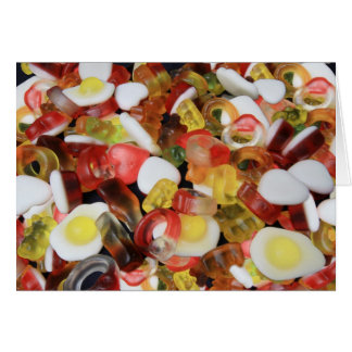 Sweets Candy smarties  Halibos Card