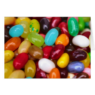 Sweets Candy smarties Jelly beans Card
