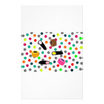 sweets candy stationery design