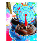 Sweets Cupcake Cake Party Shower Congratulations Custom Letterhead