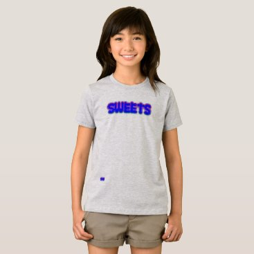 Beach Themed Sweets girls t-shirt