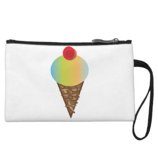 SWEETS-IceCreamDream Wristlet Wallet