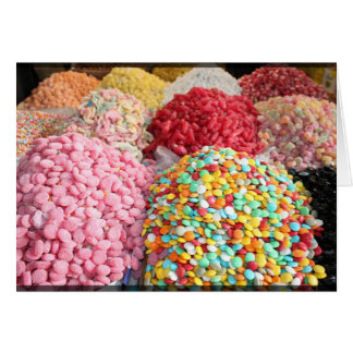 Sweets in Bazaar - Damascus, Syria Card