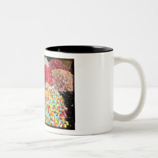 Sweets in Bazaar - Damascus, Syria Two-Tone Coffee Mug