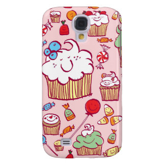 Sweets on Pink Galaxy S4 Case