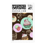 Sweets Postage Stamp