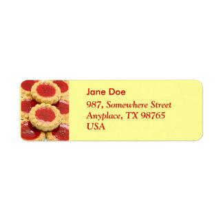 Sweets Return Address Label