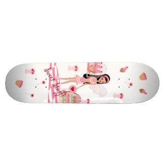 Sweets Shoppe Fairy White Skateboard