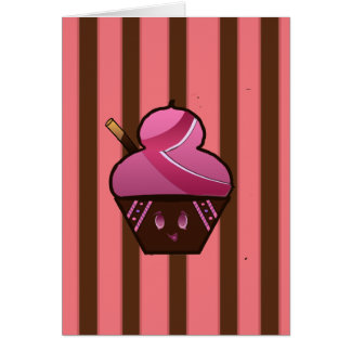 Sweets & things greeting card
