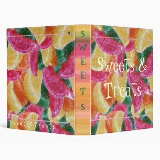 Sweets & Treats 3 Ring Binder