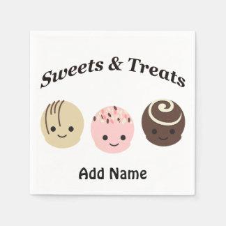Sweets & Treats! Chocolates Napkin