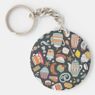 Sweets & Treats Deserts Keychain