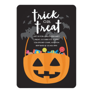 Sweets & Treats Halloween Invite