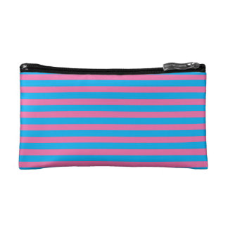 Sweetshop Candy Shop Stripe Cute Retro Makeup Cosmetic Bag
