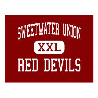 Sweetwater Union - Red Devils - National City Postcard