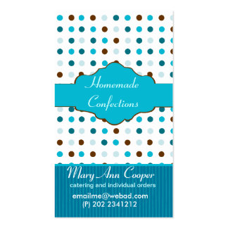 Sweety Baby Blue Business Card