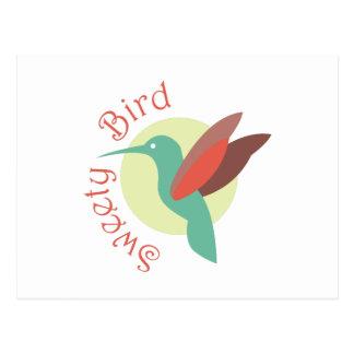 Sweety Bird Postcard