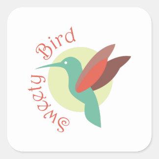 Sweety Bird Square Sticker