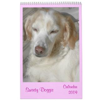 Sweety Doggie 2009 Calendar