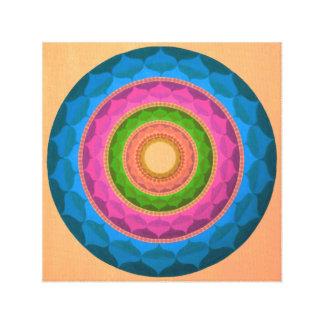 Sweety Mandala Canvas Print