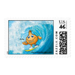sweety onion surfing postage stamps