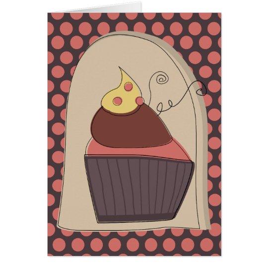 Sweety Pie Cupcake Card