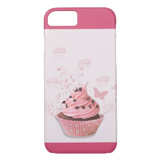 Sweety Pink cupcake iPhone 8/7 Case