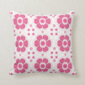 Sweety Pink Floral Pattern Pillow