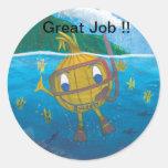 sweetyonion snorkeler stickers
