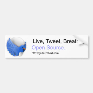 Swell Bumper Sticker.  For, you know, bumpers. Car Bumper Sticker