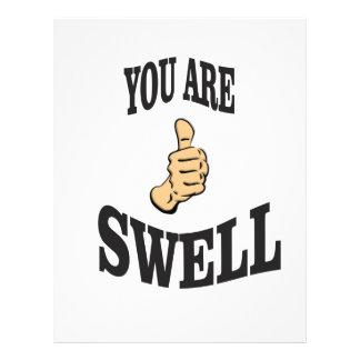 swell thumb of fun letterhead