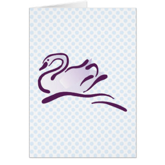 Swella Swan Card