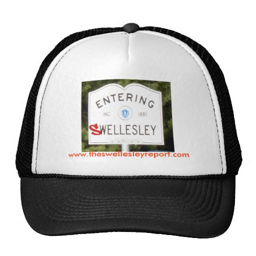 SwellesleyRed, www.theswellesleyreport.com Gorras