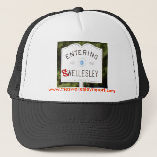 SwellesleyRed, www.theswellesleyreport.com Trucker Hat
