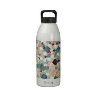 SWEPT AWAY 4 - Lovely Shabby Chic Soft Pink Ocean Water Bottle