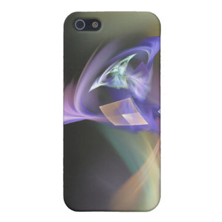 Swept Away Abstract Fractal Art Case For iPhone 5