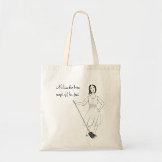 Swept Off Her Feet Bridal Shower Canvas Bags